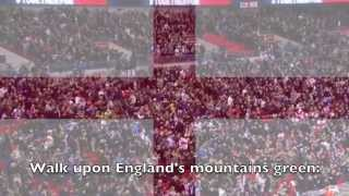 National Anthem England Jerusalem