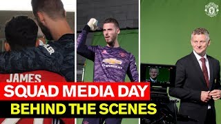 Behind the Scenes! | Club Media Day 2019 | Manchester United