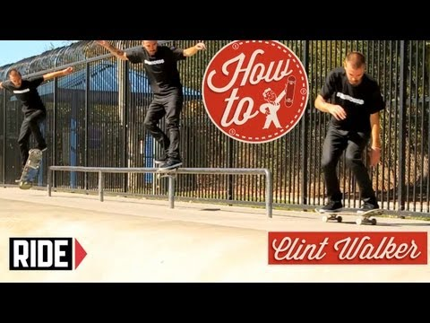 How-To Skateboarding: Backside Smith Grinds with Clint Walker