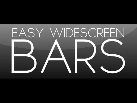 After Effects Tutorial: Easy Widescreen Bars