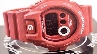 Casio GSHOCK HEATHERED Series GDX6900HT-4 | How To Set Time | LIGHT DISPLAY