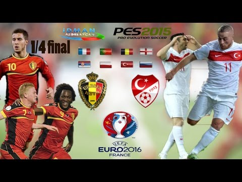 Belgium - Turkey • UEFA EURO 2016 • Pes2015 Gameplay•Türkçe Spiker № 4