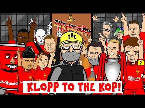 ⚽️RODGERS OUT!⚽️ Klopp to the Kop!!! Liverpool get their new manager! (Parody cartoon song)