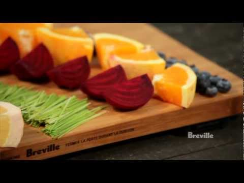 Breville -- Health Full Life™: Rainbow Nutrition Juice Recipe with fruits and vegetables