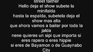 Calle 13 Atrevete Letra