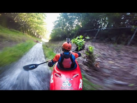Gopro: Drainage Ditch Kayaking video