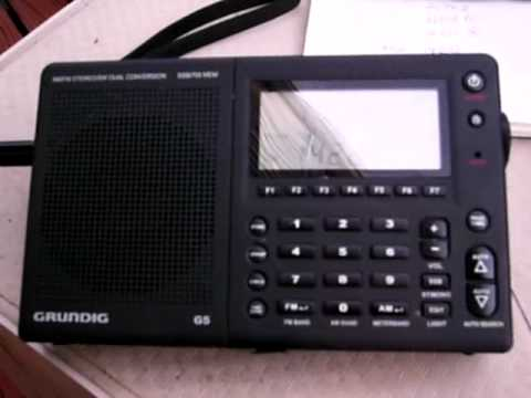 Grundig G5 Mexico City 20 meters