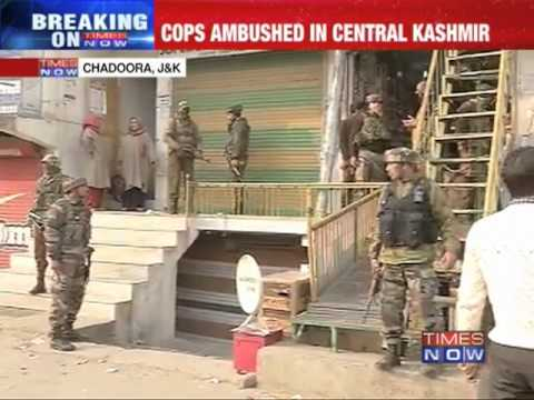 SHO killed in militant attack in Jammu & Kashmir