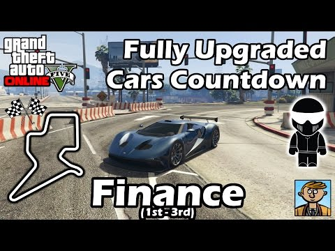 Fastest Finance DLC Vehicles (1st-3rd) - Best Fully Upgraded Cars In GTA Online