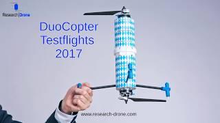 DuoCopter Testflights 2017