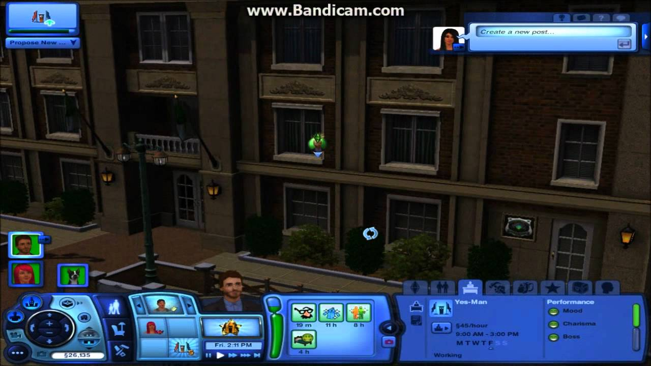 how to use download sims char