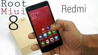 How To Root Miui 8 Without Pc !! Redmi 2 And....