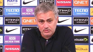 Manchester City 2-3 Manchester United - Jose Mourinho Post Match Press Conference - Premier League