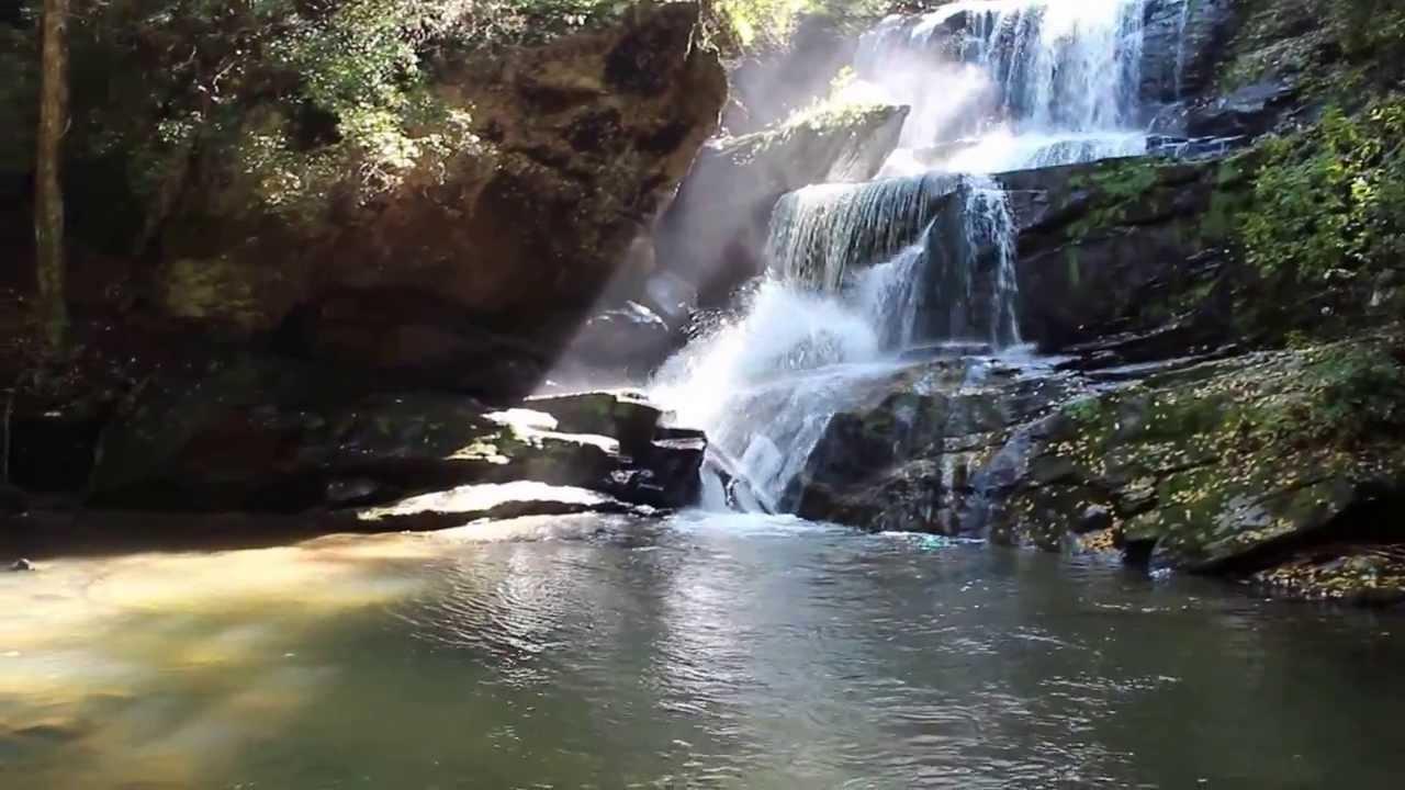 Little Bradley Falls Saluda Nc Youtube