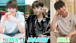 [KPOP GAMES] KISS, MARRY, KILL (KPOP MALE IDOL EDITION)