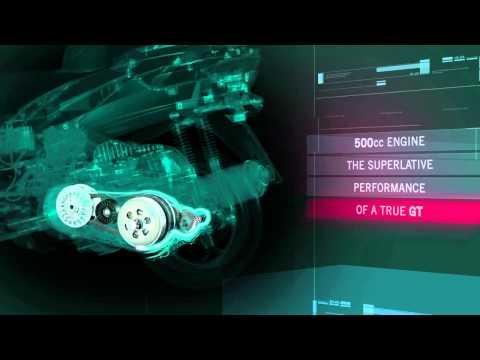 New Piaggio Mp3 - Technology