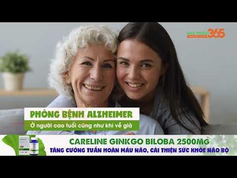 Careline Ginkgo Biloba - Tăng cường sức khỏe não bộ