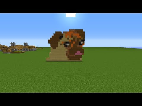 Minecraft Moose Build