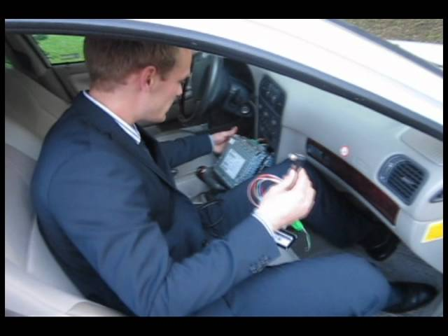 VOLVO AUX Adapter - Installation - YouTube