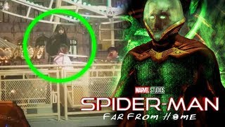 **LEAKED** Spider-Man Far From Home Mysterio Revealed In Set Photos!?