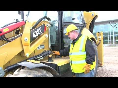 It's Top Tips And The New Cat 432F Backhoe