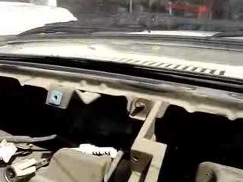 2008 Toyota Tacoma For Sale >> dash removal of toyota truck 84 to 89 - YouTube