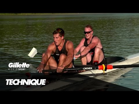 Rowing Technique with the Canadian Olympic Rowing Team | Gillette World Sport
