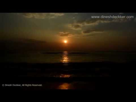 Sunset Bambalapitiya Sri Lanka (timelapse Photography) video