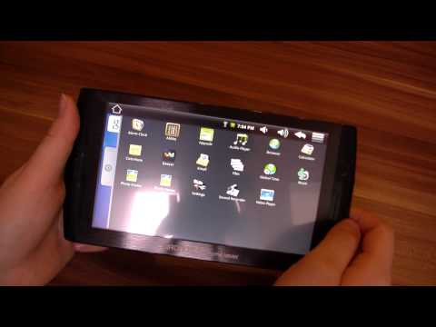 Archos 7 Home Tablet Unboxing English