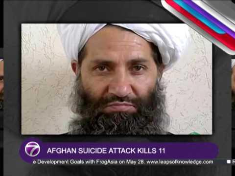 Afghan Suicide Attack Kills 11