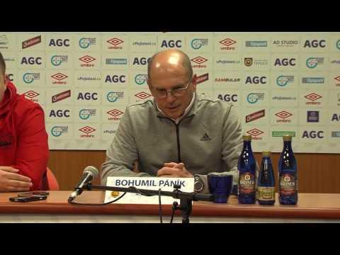 Tisková konference hostujícího trenéra po utkání se Zlínem (15.10.2016)