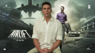 #ProudToBeIndian | AIRLIFT |  Akshay Kumar Asks to SHARE YOUR STORY | T-Series
