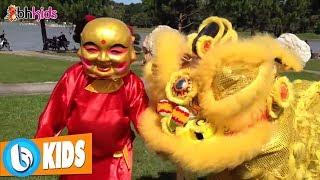 Nhong Nhong Nhong, Đàn Gà Con ♫ Múa Lân ♫ Nhạc Thiếu Nhi  Sôi Động Hay Nhất