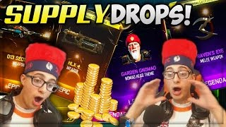 NEW DLC WEAPONS!! - LUCKY BLACK OPS 3 SUPPLY DROP OPENING REACTION (BO3 NEW GUNS)