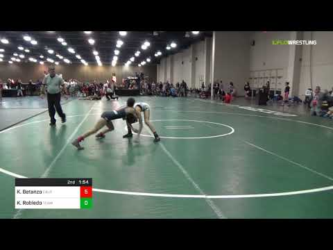2018 USAW-USMC Girls FK & U23 Women's Nationals/Junior  100 Consi Of 32 #2 - Kristal Betanzo (Cali