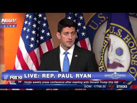 MUST WATCH: Paul Ryan Speaks After First Meeting with Donald Trump, Talks Unifying GOP