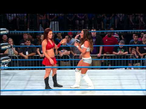 Brittany wants an explanation from Madison Rayne (May 29, 2014)