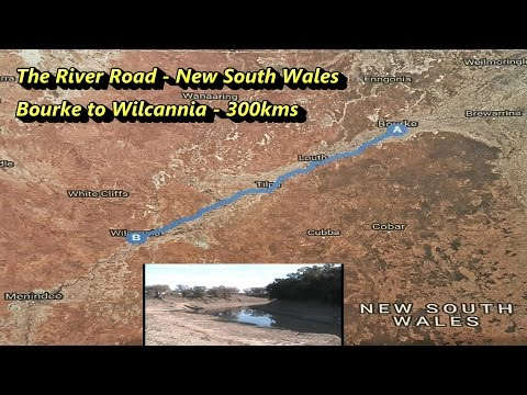 The River Road   Bourke To Wilcannia , NSW