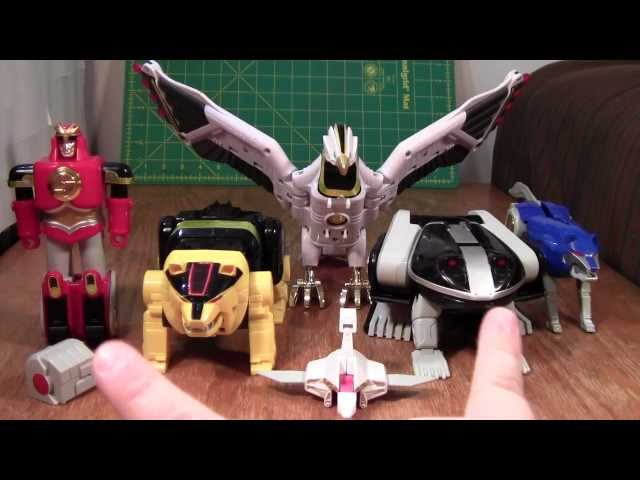 Power Rangers Ninja Megazord / Ninja Mega Falconzord Review (Toy Figure)