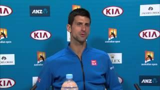 Novak Djokovic press conference (SF) - Australian Open 2015