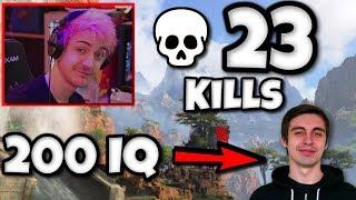 Ninja's 23 Solo Kills, Shroud 200 IQ Plays, DrDisRespect Rage | Apex Legends Highlights #2