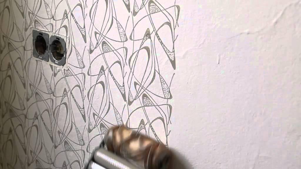 musterwalzen in aktion so kommen muster an die wand. Black Bedroom Furniture Sets. Home Design Ideas