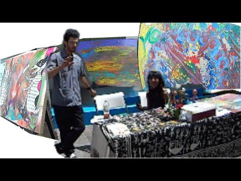 Arte en el  Centro de Gobierno de Ensenada,Baja California México