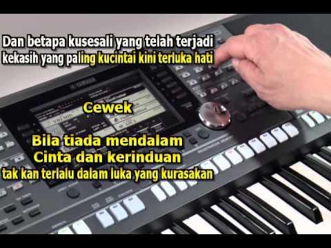 Kandas Karaoke Lirik Tanpa Vocal Keyboard