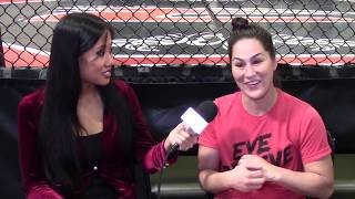 JESSICA EYE ON ADVANTAGES OVER VALENTINA; DETAILS STRONG STYLE SPLIT,XTREME COUTURE; MIESHA, CYBORG