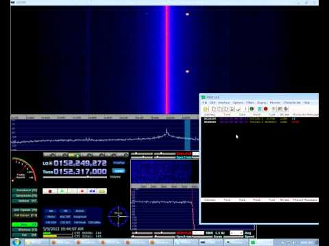 HDSDR + EzTV666 RTL2832U, Decoding POCSAG from VHF utility telemetry (?)