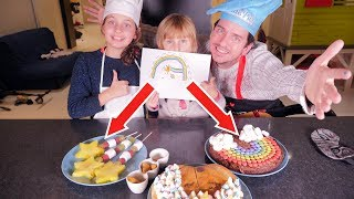 I DRAW, YOU COOK CHALLENGE • Can This Teen Create a Kid's Imaginary Meal ? - Studio Bubble Tea
