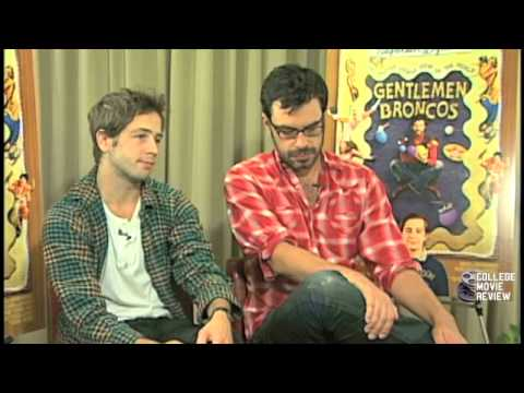 Michael Angarano Jemaine Clement Interview on Gentlemen Broncos CollegeMovieReview com