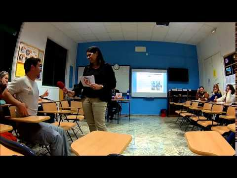 BBC News (Students version) in the Official Languages School, Guía-Gran Canaria
