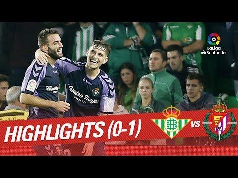 Resumen de Real Betis vs Real Valladolid (0-1)
